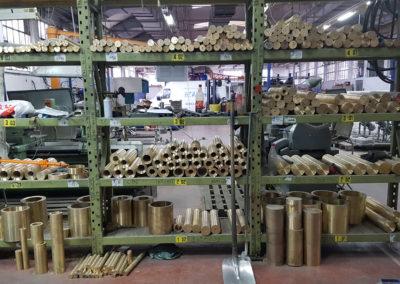 bronza raznih dimenzija i legura u proizvodnji