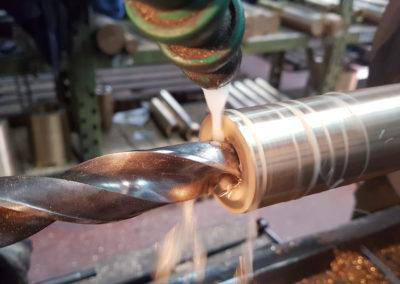 bušenje bronze